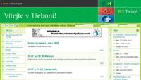 Webové stránky - IKS Třeboň