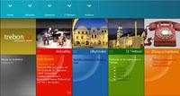 Webové stránky - Informační server Třeboň