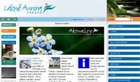 Webové stránky - Lázně Aurora