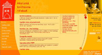Webové stránky - Městská knihona Třeboň