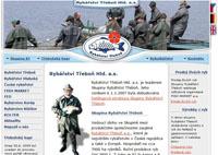 Webové stránky - Rybářství Třeboň